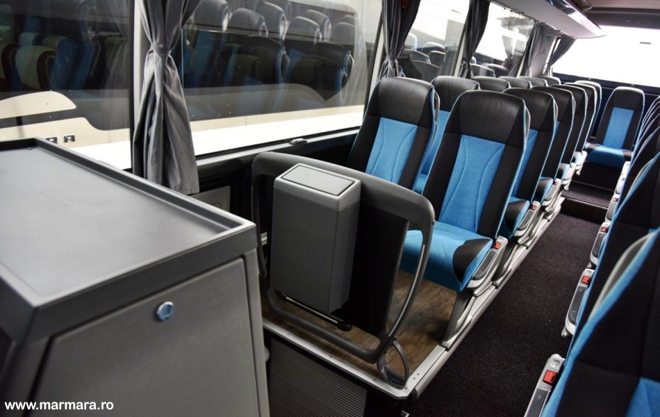 interior autocar setra